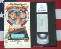 Adventures of Mary-Kate Ashley, VHS The Case of Mystery Cruise Video Olsen Twins