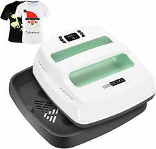 VIVOHOME T-Shirt Heat Press Machine Digital Sublimation Transfer Ironing Print