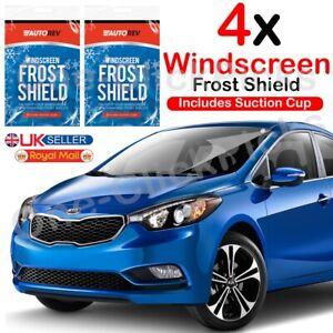 4x Car Windscreen Cover Ice Frost Snow Sun Dust Van Windshield Protector Shield