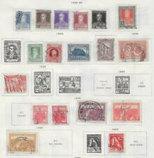 18 Argentine Republic Stamps from Quality Old Antique Album 1923-1932