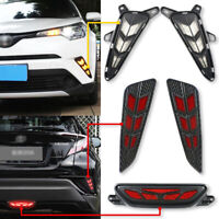 For Toyota CHR 2017 2018 LED Daytime Running Light+Brake Light+Tail Lamp DRL