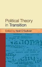 USED (VG) Political Theory In Transition