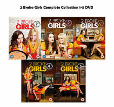 2 Two Broke Girls Complete Collection 1-5 DVD Season 1 2 3 4 5 Original UK NEW