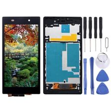 For Sony Xperia Z1 LCD Display With Frame Panel Touch Digitizer BLACK