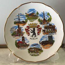 N5: Assiette De Collection Et De Décoration Voir Photos 24 Cm Berlin