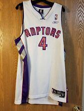 Chris Bosh Toronto Raptors Sewn Reebok Jersey Adult XL
