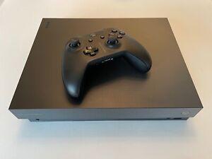 Microsoft Xbox One X — Project Scorpio Limited Edition —1TB Console Black
