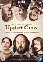 Nuovo Upstart Crow la Serie Completa 1 A 3 E Speciale Natale DVD