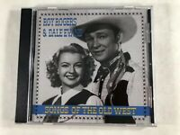 Roy Rogers & Dale Evans Songs of the Old West CD 1998 Streets of Loredo