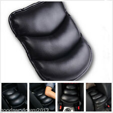 One Pcs Black Pu Leather Automobile Armrest Center Console Pad Mat Cushion Cover(Fits: Cadillac Catera)