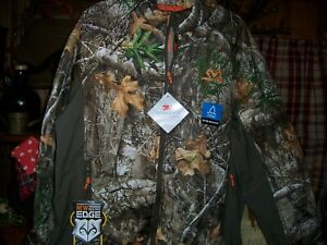 REALTREE MENS WATER RESISTANT THIN INSULATE JACKET SIZE LARGE 42-44 CAMOUFLAGE