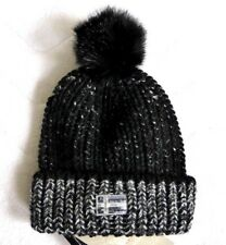 NAPAPIJRI Womens Wool Mohair black Gable Beanie Toque a FEMME MADE IN ITALY