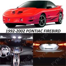 9 White LED Interior Lights Package Kit for 1993-2002 Pontiac Firebird +Tool PF1