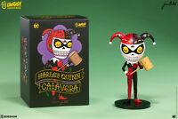 Sideshow Harley Quinn DC Comics Calavera Batman Designer Toy Unruly Industries