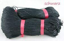 73m Baumwollband gewachst Wachsband Baumwollfaden Schnur cotton wax cord 0,04€/m
