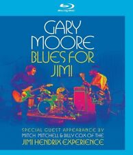 GARY MOORE - BLUES FOR JIMI (BILLY COX, MITCH MITCHELL,...)  BLU-RAY NEW+