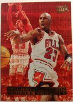 1995-96 Fleer ULTRA Michael Jordan DOUBLE TROUBLE #3, Insert Chicago Bulls HOF!