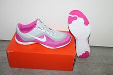 Nike WMNS Flex Baskets 6 femme chaussure gris blanc rose taille 37,5 NEUF