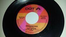JACK BARLOW Birmingham Blues / Papa Didn't Give Me No DOT 17212 RARE COUNTRY 45