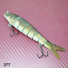 142 mm multi articulé dur pêche leurre appât segment Articulé Pêche à Pike