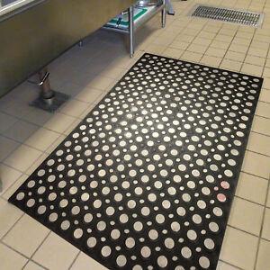 Large Heavy Duty Non Slip Rubber Ring Door Mat Outdoor Entrance Carpet Rug