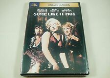 Some Like It Hot Dvd Vintage Classics Marilyn Monroe, Tony Curtis, Jack Lemmon