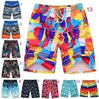 Men's Surf Board Shorts Casual Swim Shorts Trunk Swimwear Swimming Pants L-XXXXL