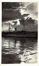 Romania 1930s Black Sea Constanta Port with The  Princess Mary Boat