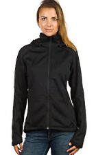 Womens Burton AK Black Full Zip Sweater Fleece Lira XS Dryride Turbine Insulator