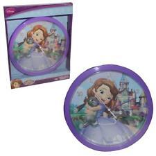 License Disney Officielle pour Enfants Chambre 24cm Horloge Murale -