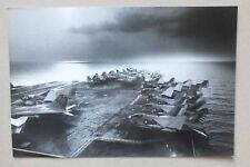 PHOTOGRAPHIE DE PRESSE SYGMA - PORTE AVIONS USS AMERICA - 6EME FLOTTE - 1979 *