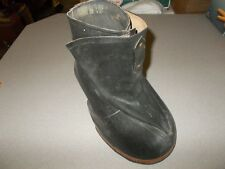 Vintage Canadian made Miner Weatherseal huge working horse hoof protective boot