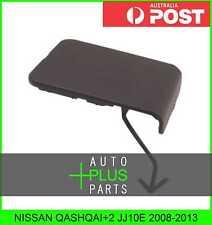 Fits NISSAN QASHQAI+2 JJ10E Plastic Cover Bumper Tow Hook Front