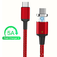 Magnetic 5A PD USB C to Type C Cable Fast Charge Data Charger Male to Male Cable