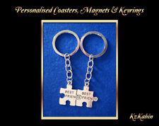 BEST FRIENDS  Keyrings Jigsaw Puzzle Key Chain Bag Tag Birthday Gift