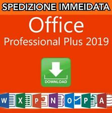 MICROSOFT Office 2019 Professional Plus  - Licenza originale ESD