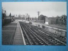 PHOTO  GWR KINTBURY STATION IN 1970