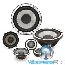"FOCAL UTOPIA BE NO 7 ACTIVE 6.5"" 3"" 3-WAY COMPONENT SPEAKERS BERYLLIUM TWEETERS"