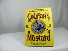 A Wall Clock from a Reproduction Colman's Mustard add in the 50's, Superb !!!