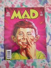 MAD Magazine June 2018 1st Issue - Alfred Picking His Nose