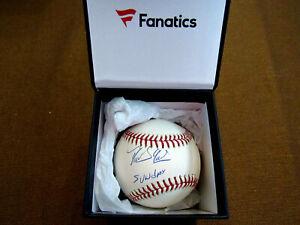 "DOMINGO GERMAN "" SUNDAY "" NY YANKEES SIGNED AUTO OML BASEBALL FANATICS MLB GEM"