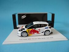 FORD FIESTA RS WRC - OGIER - TEST RALLY MONTE CARLO 2018 - 1/43 NEW SPARK S5172
