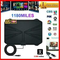 1180Mile Range Antenna 1080P TV Digital HD HDTV Skywire Antena Digital Indoor