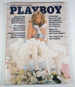 Playboy Magazine, 1976 April, Ursula Andress Pictorial