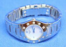 Montre Watch Uhr TISSOT Diamant Diamond Lady Quartz L541 Cadran Nacre MetalBand