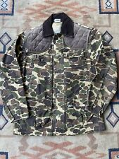 New listing vintage carhartt 80s duck camo hunting jacket size M made in USA