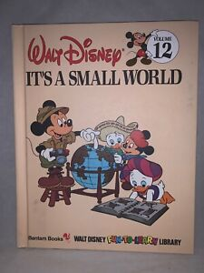 1983 Walt Disney It's A Small World Volume12 Fun To Learn Library Book