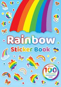 Rainbow Sticker Colouring Activity Book for Children