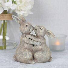 Cute You Make My Heart Thump Bunnies Boxed Resin Rabbits Perfect Christmas Gift