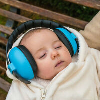 Kids childs baby ear muff defenders noise reduction comfort festival protect  lx